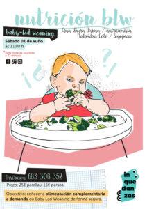 Alimentación BLW e bebés